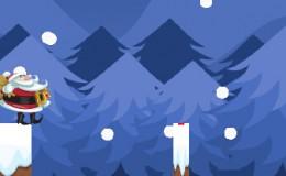 圣诞必备的《圣诞老人过桥》html5微信小游戏分享
